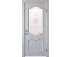 """""""Межкомнатная дверь Новый стиль Рока со стеклом  """""""