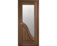 Межкомнатная дверь Новый стиль Амата со стеклом