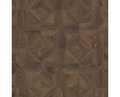 Ламинат Quick Step Impressive patterns IPA 4145 Дуб кофейный брашированный 33 класс, 8 мм
