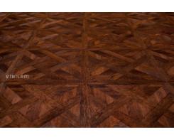 Виниловый ламинат Vinilam Клеевой замок Паркет 4,5 216513 Паркет темный 43 класс, KM2